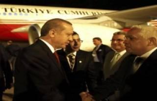 Cumhurbaşkanı Erdoğan Küba'da