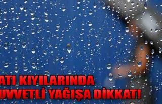 Dikkat Kuvvetli Yağış Geliyor!