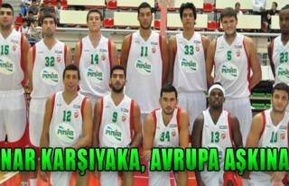 Pınar Karşıyaka Ventspils'i Ağırlayacak!