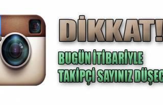 Instagram Takipçileriniz Düşebilir