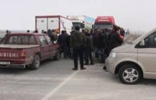 Aksaray Karayolu Ulaşıma Kapatıldı