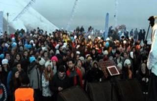 'Kar Dünyası Festivali' İle Coştu