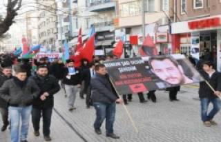Eskişehir'de 'Türkçülük Yürüyüşü'