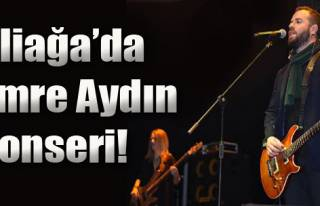 Aliağa'da Emre Aydın Konseri