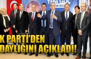 AK Parti'den Adaylığını Açıkladı