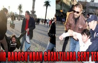 İzmir Barosu'ndan Sert Tepki!