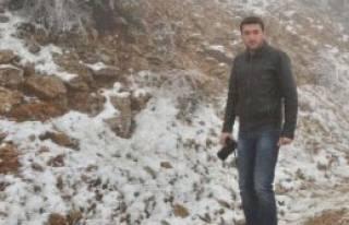 Manisa Spil Dağı'nın Tepesi Beyaza Büründü