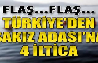 Türkiye'den Sakız Adası'na 4 İltica