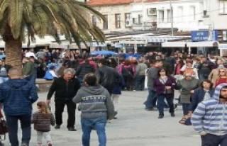 Foça'da Kış Ortasında Yaz