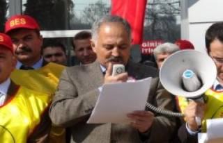 Gaziantep'te Vergi Eşitsizliği Eylemi