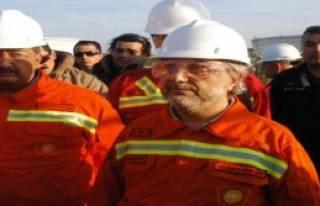 Ham Petrol Boru Hattında Yangın Tatbikatı Yapıldı