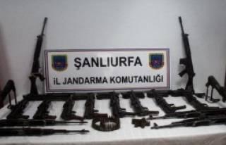 Akçakale'de Silah Kaçakçıllarına Operasyon