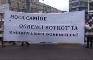 Kadıköy'de 'Boykot' Yürüyüşü