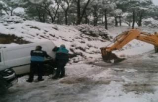 Kar Yağışı Hayatı Olumsuz Etkiledi