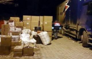 1 Ton 200 Kilo Kaçak Çay Bulundu