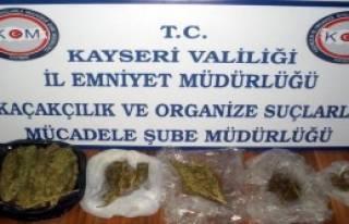 Kayseri'de Uyuşturucu Operasyonları!