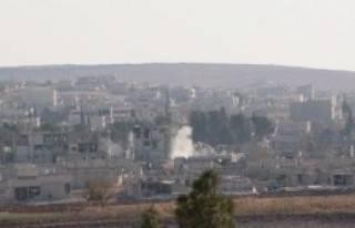 Kobani'de IŞİD 3 Koldan Saldırıyor