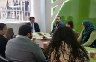 Başkonsolos, Türk Öğrencilerle Buluştu