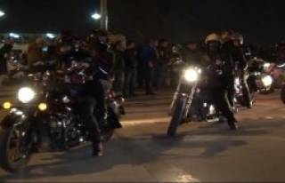 Motosikletçilerden Özgecan Aslan Cinayetine Tepki