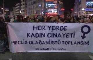 Özgecan İçin Kadıköy'de Yürüyüş