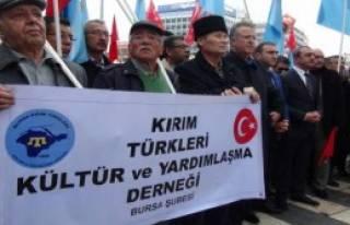 Kırım Türklerinden Putin'e Tepki