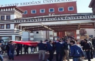 Rize RTEU'de Fırat Çakıroğlu Cinayetine Tepki