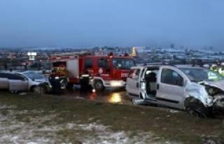 Samsun'da Kaza: 1 Ölü 2 Yaralı