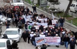 Şanlıurfa'da 'Torba Yasa' Protestosu