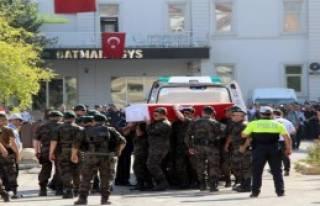 Şehit Polisin Cenazesi Manisa'ya Gönderildi