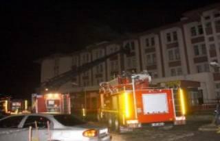 Okul Pansiyonunda Yangın