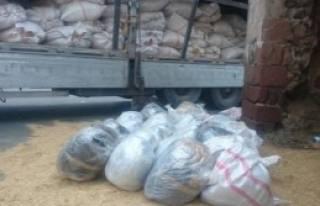 Saman Balyaları Arasından 156 Kilo Esrar