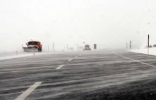 Tokat'ta Kar Yağışı Etkili Oluyor