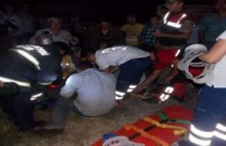 Tokat'ta Trafik Kazası
