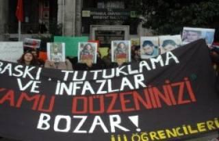 Öğrencilerden 17 Aralık Eylemi
