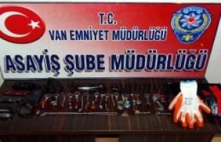 Van'da Hırsızlık Şebekesine Operasyon