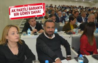 AK Partili Baran, o komisyonda da başkanlığa seçildi!