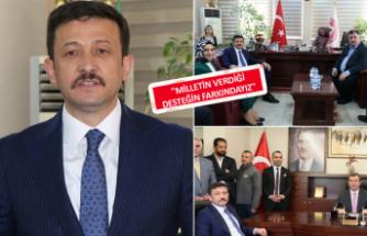 AK Partili Dağ'dan Bergama ve Kınık'a ziyaret