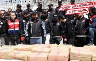'Birlik' operasyonunda 10 tutuklama
