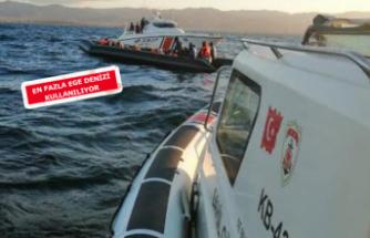 Ege sularında inanılmaz kaçak trafiği