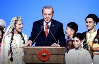 Erdoğan çocuklara seslendi