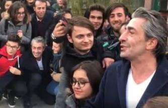 Eskişehir'de Erkan Petekkaya izdihamı