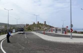 Foça'daki yeni terminal faaliyete girdi