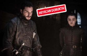 Game Of Thrones'tan yeni bölüm fotoğrafları!