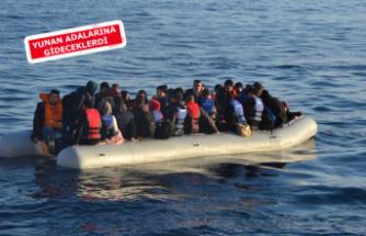 İzmir'de, 67 kaçak göçmen yakalandı