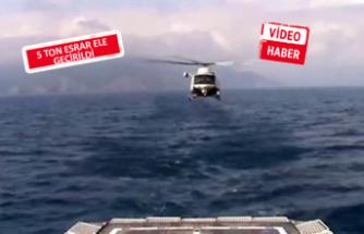 Uluslararası  'Birlik operasyonu' sonuçlandı! Zehir gemisi İzmir'de