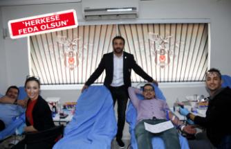 İzmirli Beşiktaşlılardan kan bağışı