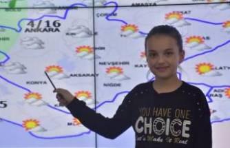 Meteoroloji'den bir ilk! Müjdeyi çocuklar verdi