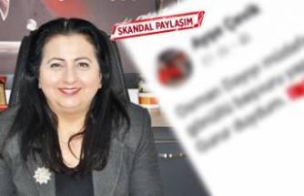 Okul müdüründen skandal paylaşım