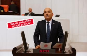 Polat, Ilıpınar'daki yangını meclise taşıdı