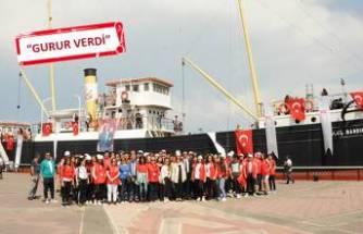 Balçovalı gençler Samsun'da